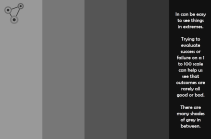 Shades of grey