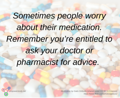Medication worries
