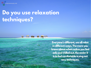 Do you use relaxation techniques?